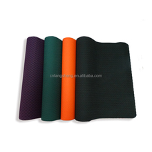 hot selling high durable wholesale Environment Friendly eco 4mm thickness eco-friendly TPE foam yoga pilate exercise mat cheaper