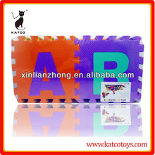 Eco-friendly abc alphabet tappetino 36 pz eva stuoia di <span class=keywords><strong>puzzle</strong></span>