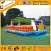 Commercial new inflatable soap football field portable soccer field football pitch A6005