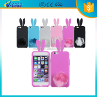 Rabbit Ear Mobile Phone Case for Iphone 4S,Cute Popular phone case for iPhone 5S
