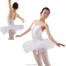 Dansgirl Paillette White Ballet Tutu Dress (BA4181)