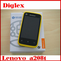 New cheapest china mobile phone lenovo a208t android 2.3 multilanguage