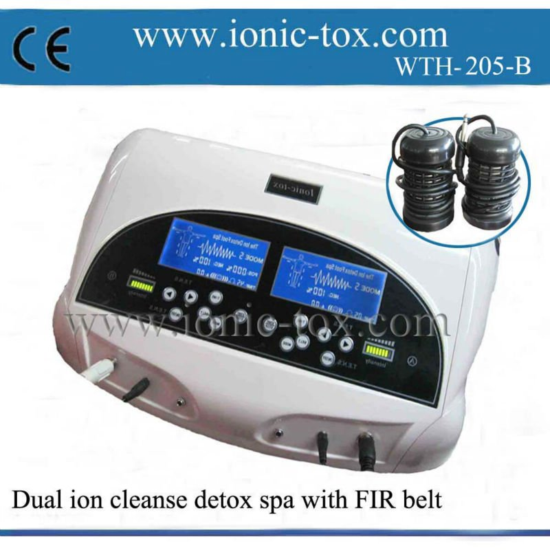 Dual lon Cleanse <strong>3</strong> in 1 body cleanse detox machine