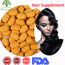 GMP Food Supplement Hair Growth Glowing Skin Vitamin B Complex Tablets