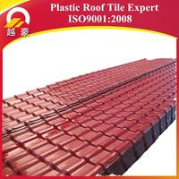 types of roof covering plastic materials synthetic resin tile sheet