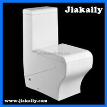 JKL-9177 China Curve Bathroom one piece cheap siphonic toilet