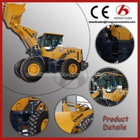 China Mine front wheel loader tractor backhoe loader