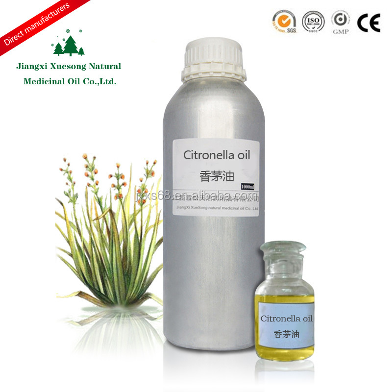 Jiangxi Xuesong best price for Best Plant Extract Essential oil Pure Organic Citronella oil