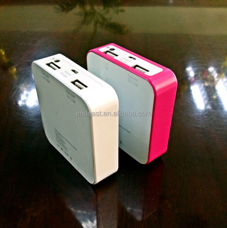 2015 fasionable design portable power bank charger for iphone6