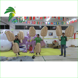 1m Tall Promotional Inflatable Ice Cream Model / Vivid Inflatable Ice Cream