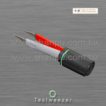 Multifunction Tweezer Shaped SMD Tester with Multimeter Connecting Cable_Taiwan Made