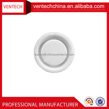 Air conditioning round diffuser air vent disc valve air diffuser