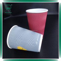 promotional paper 16 oz heat resistant coffee cup