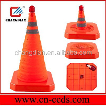 Folding traffic cone/safety cone/pop-up safety cone