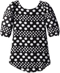 2015 Spring Onling Shopping Fashion Cheap Pretty White Polka Dot Dress
