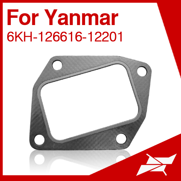 Intake manifold gasket fit for Yanmar 6KH marine disel engine use
