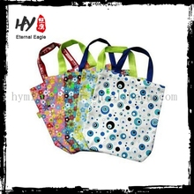 Professional recyclable shopping tote bag, folding shopping bag, online shopping bags wholesale with low price