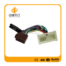 Wiring harness/ISO connector/ISO siocket for car
