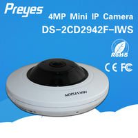 hikvision cctv camera DS-2CD2942F-IWS 4MP Compact Fisheye ip camera