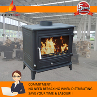 Modern Cast Iron Wood Burners, Wood Stoves for sale