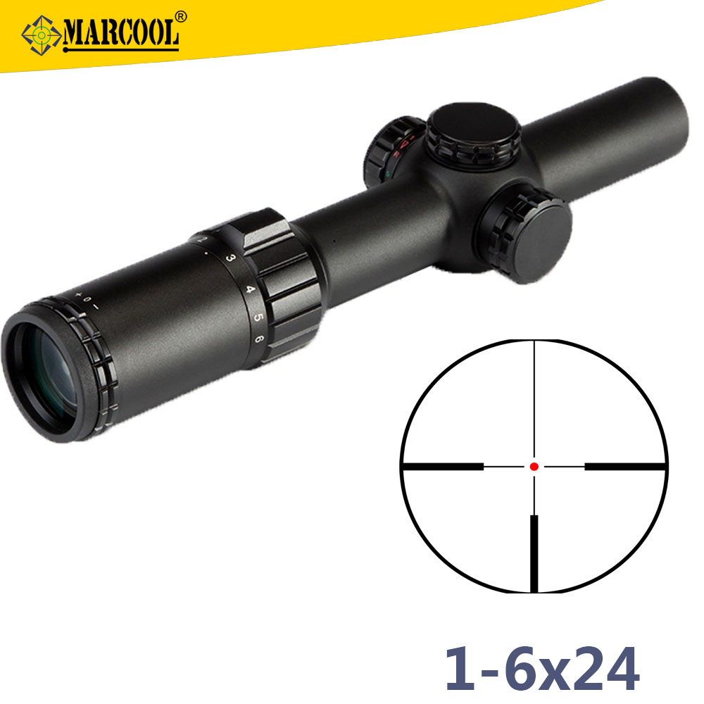 Marcool 1-6x24 IRG Military Firearms Guns Rifle Optics United Scope