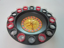 ROULETTE DRINKING GAME Drinking Roulette with 16pcs Glasses ROULETTE