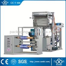 Rotary Die Head Extruder Pe Plastic Bag Film Machine