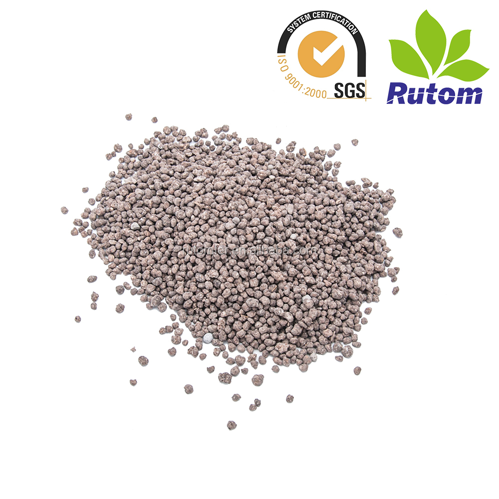 Organic inorganic compound fertilizer 16-8-8 for paddy rice