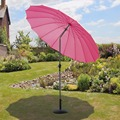 China Product Beach Umbrella Golf Steel Frame Umbrella Parasol