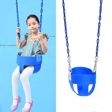 fashion safe EVA full bucket baby swing set indoor and outdoor playground high quality chair patio park seat for kids