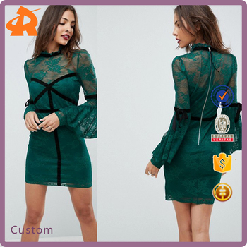 customize sexy lace dress women,fashionable club dress manufacturers in china