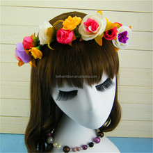 Customized best selling plastic flower garland hawaii luau lei
