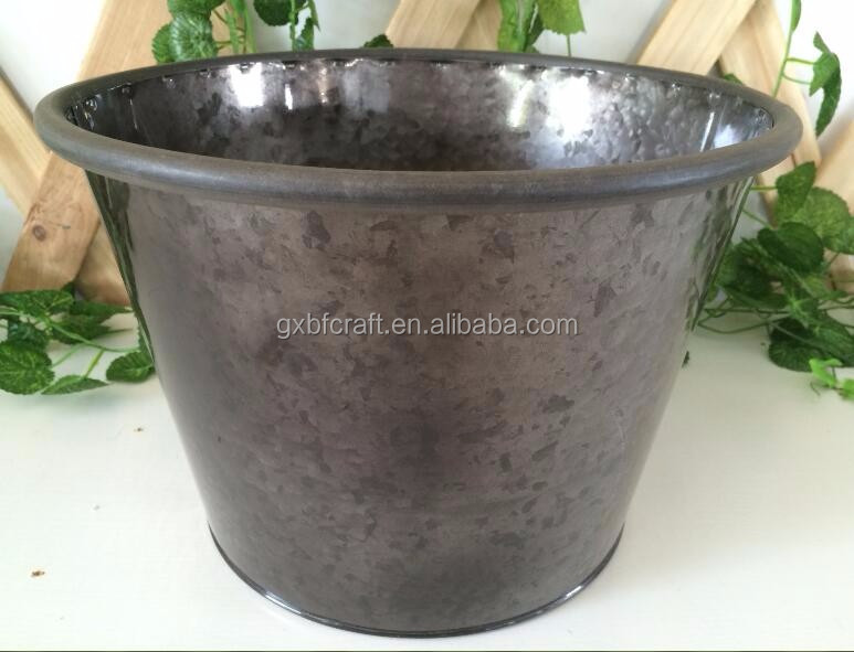 Quality Guaranteed Personalized Classic Metal Flower Pot For Garden Decoration