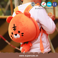 Supercute brand lion shape pink color non-slip belt in the backpack