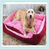 Square Winter 6 Sizes Footprints Dog Pet Bed Luxury Dog Bed