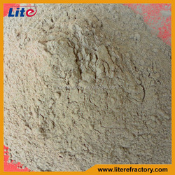 Monolithic Refractory Material High Strength Fireclay and High Alumina Powder of Refractory Mortar