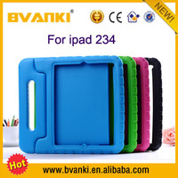 Handle Kids Friendly Minion Case For iPad 2 3 4 EVA Cases