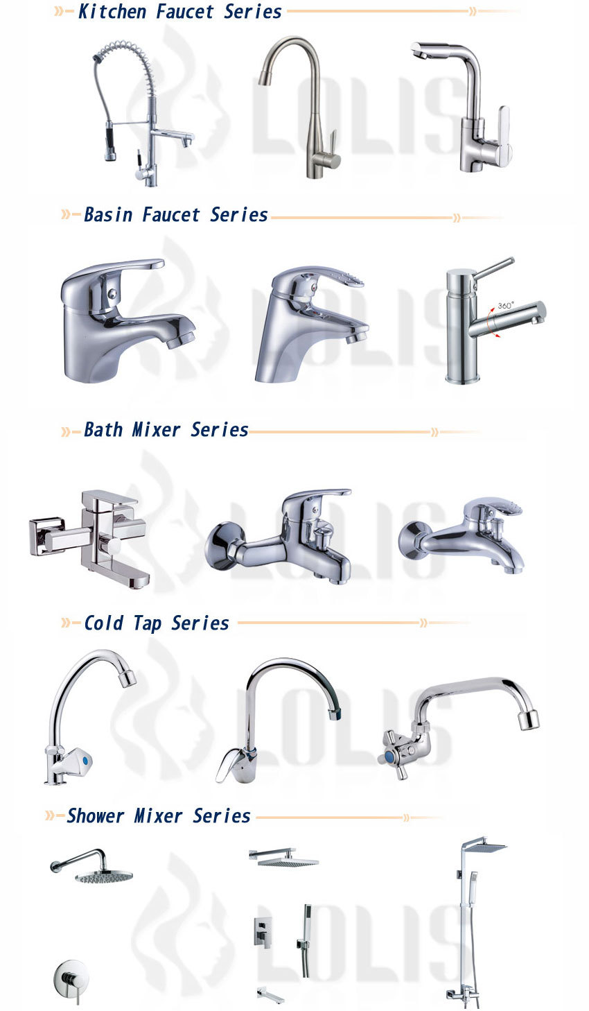 (YL812-11) New Design Current Water Pull Chrome Mixing Tap Wholesale