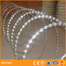 China supplier razor barbed wire / concertina razor wire price