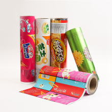 Durable Using Food Packaging Film Roll Laminating Film plastic film for food