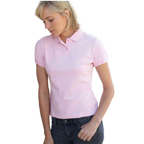 Ladys polo t shirt cotton lycra, polo shirt for women