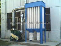 cyclone dust collector in biomass fuel pellet production line, multi-cyclone dust extractors