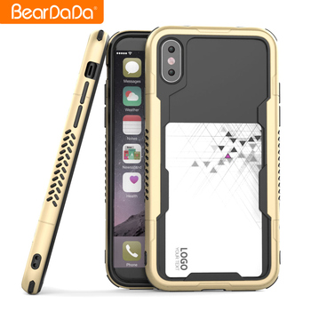 High Quality Design frame bumper tpu pc case for iphone 8,for iphone 8 bumper case