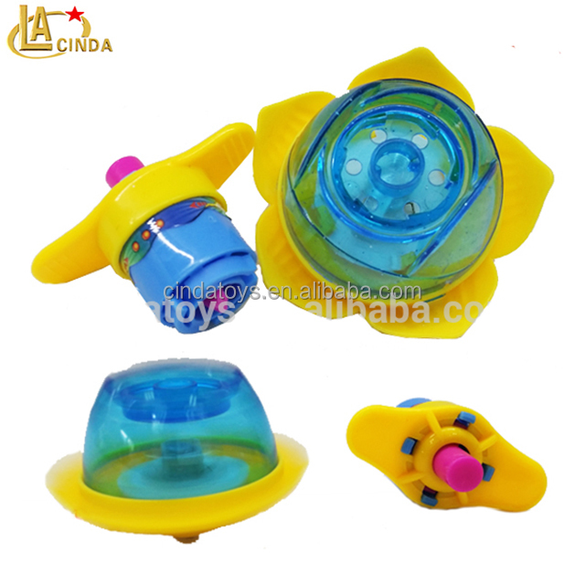 light with top opp bag spin toy light up spinning top