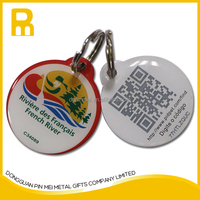 New products! Metal id tags /qr code dog tag for lost pet made in Dongguan