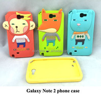 Silicone Phone Case for Galaxy Note 2