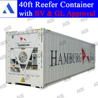 GL BV certified 20ft 40ft thermo king reefer container