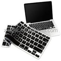 Black brand computer silicone keyboard cover