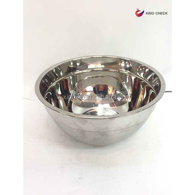 Wholesale Metal fruit bowl stainless steel mixing bowls set of 6