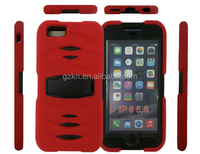 Bumper stand silicone case for iPhone 6 Plus 5.5 inch protector cover